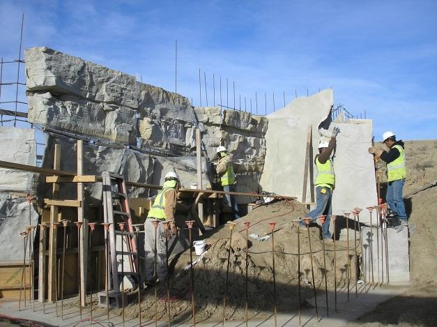 Mehaffey Park construction