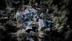 Point cloud data from drone