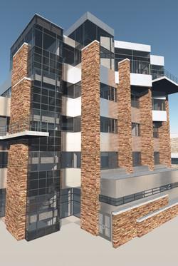 WCNR 3D rendering