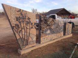 Mehaffey Park art sculpture