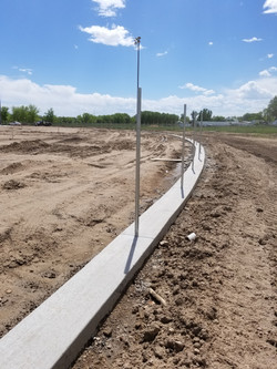 Construction of ballfield fences
