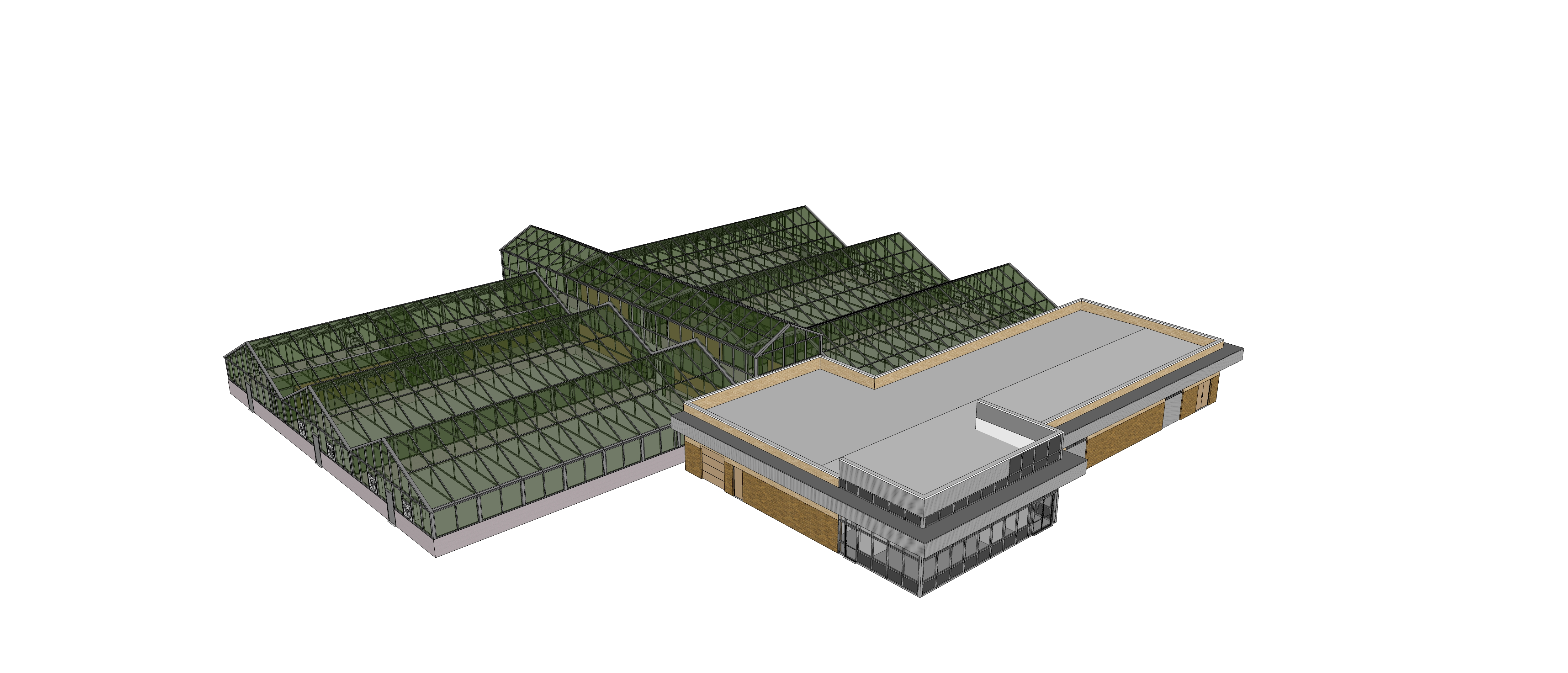 PERC building SketchUp model