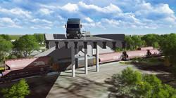 Davenport, IA overpass rendering