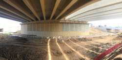 I-25 Bridge under construction