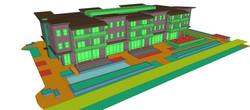 3D site study model
