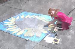 Chalk art example