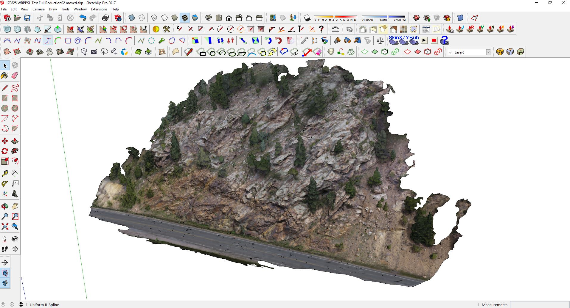Drone data in SketchUp