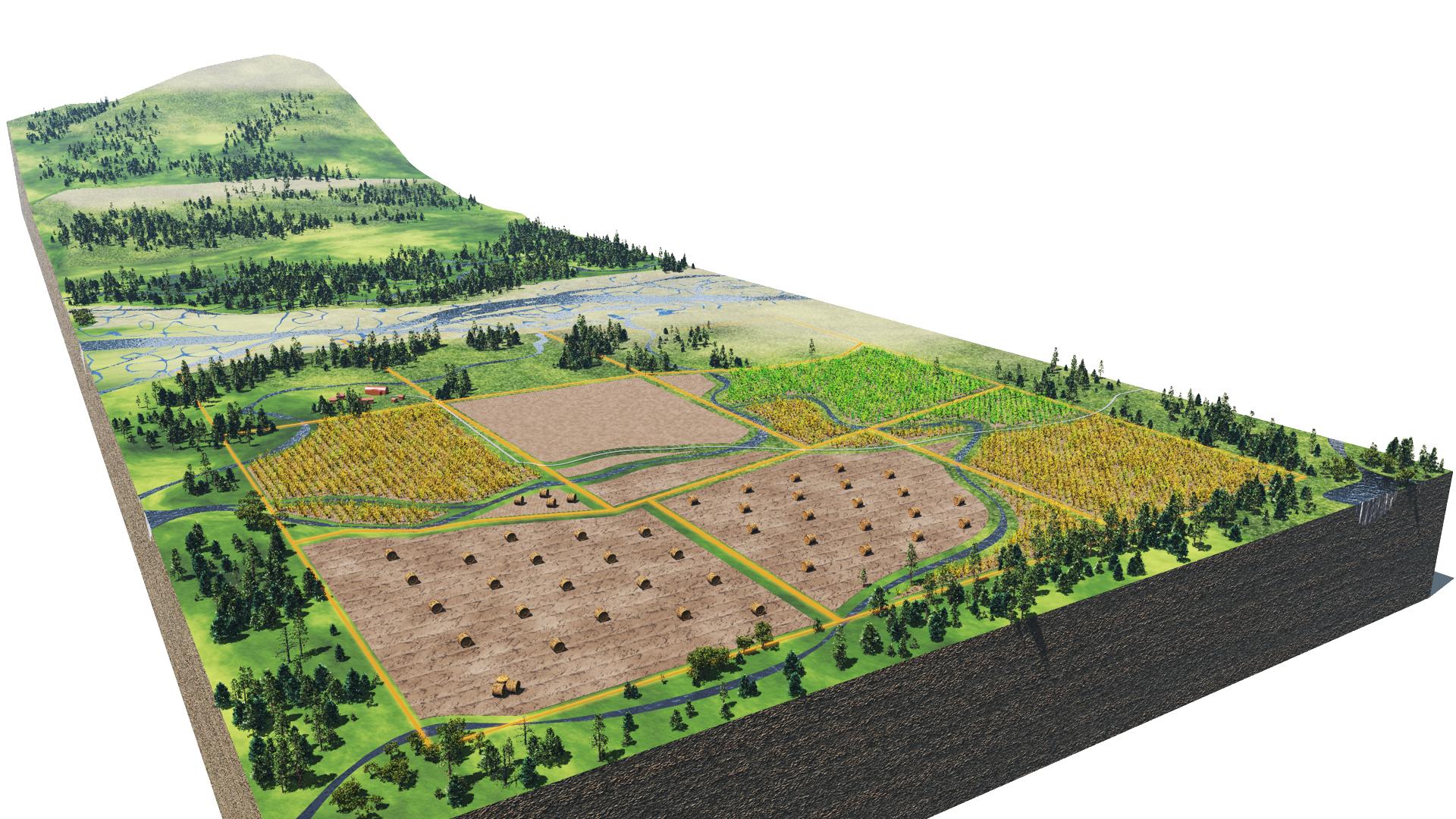 Agricultural preservation LDR