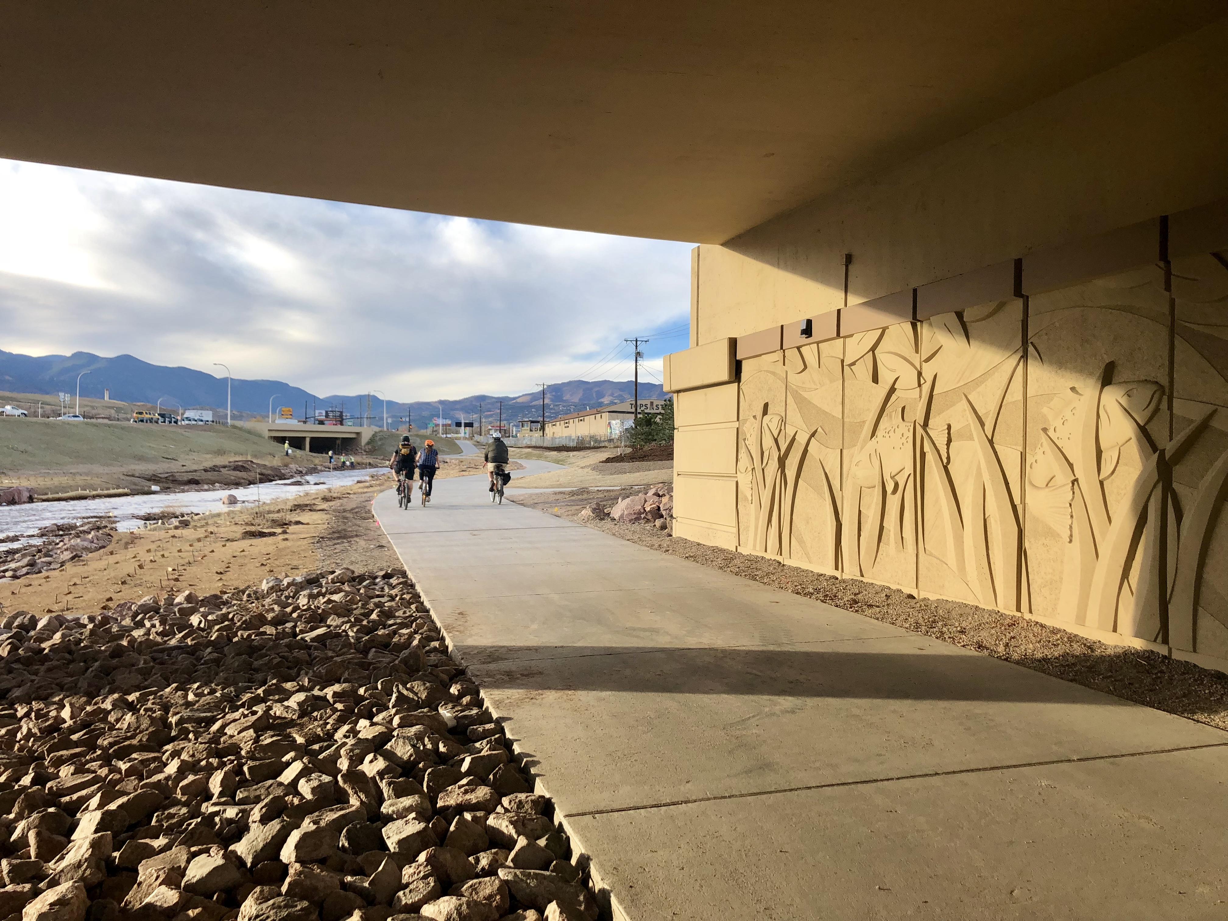 Regional trail and custom panels