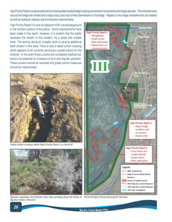 Geomorphological assessment page