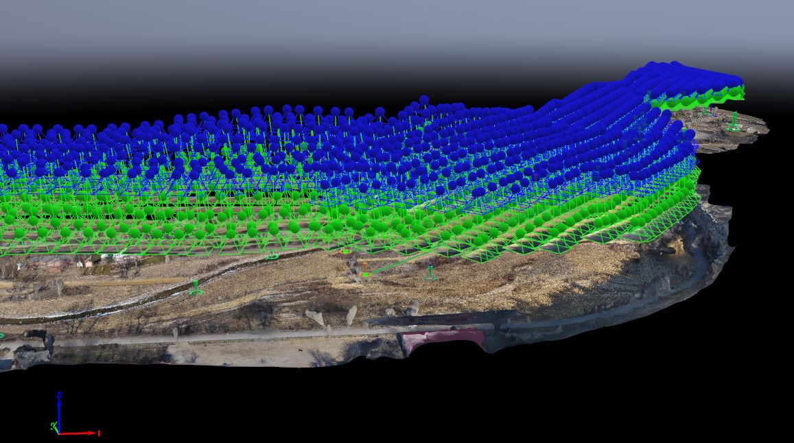 3D data from drone flights