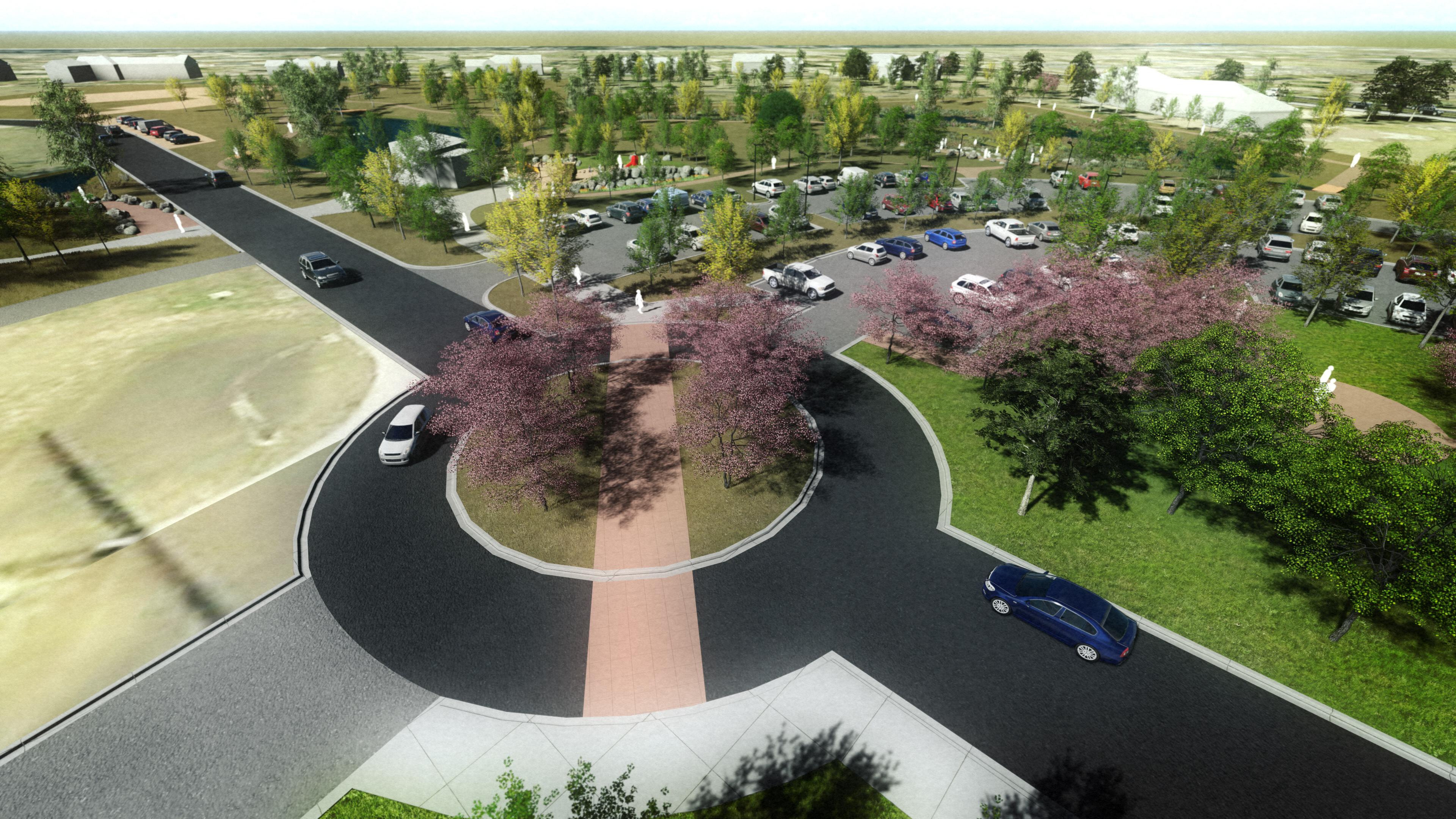 John Meade Park 3D rendering