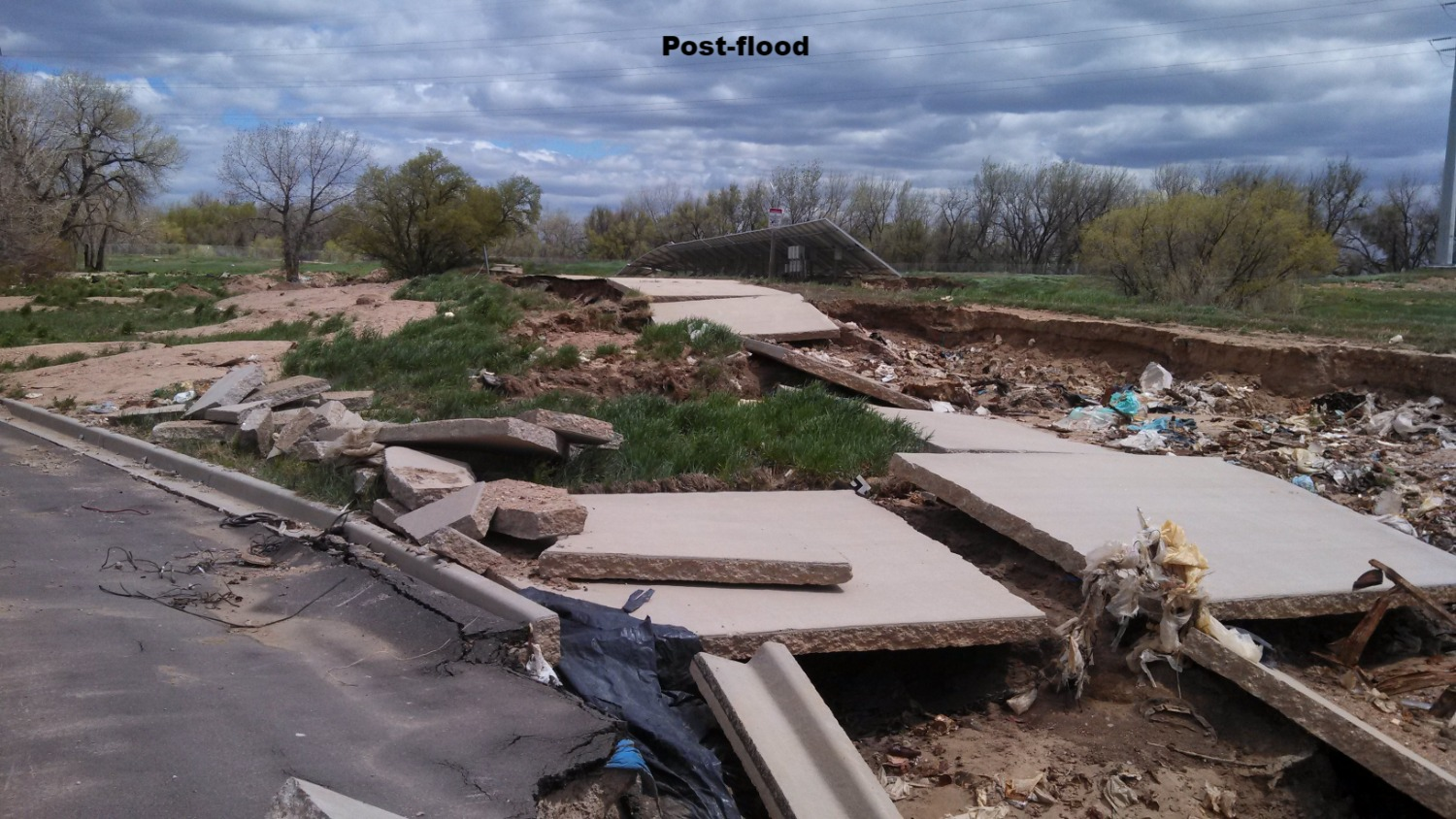 2013 Flood damage