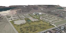 Hughes Stadium 3D model