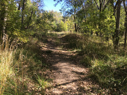 Existing trail