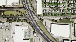 Chicago Tollway rendering