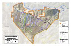 North Fruita Desert All Routes Map