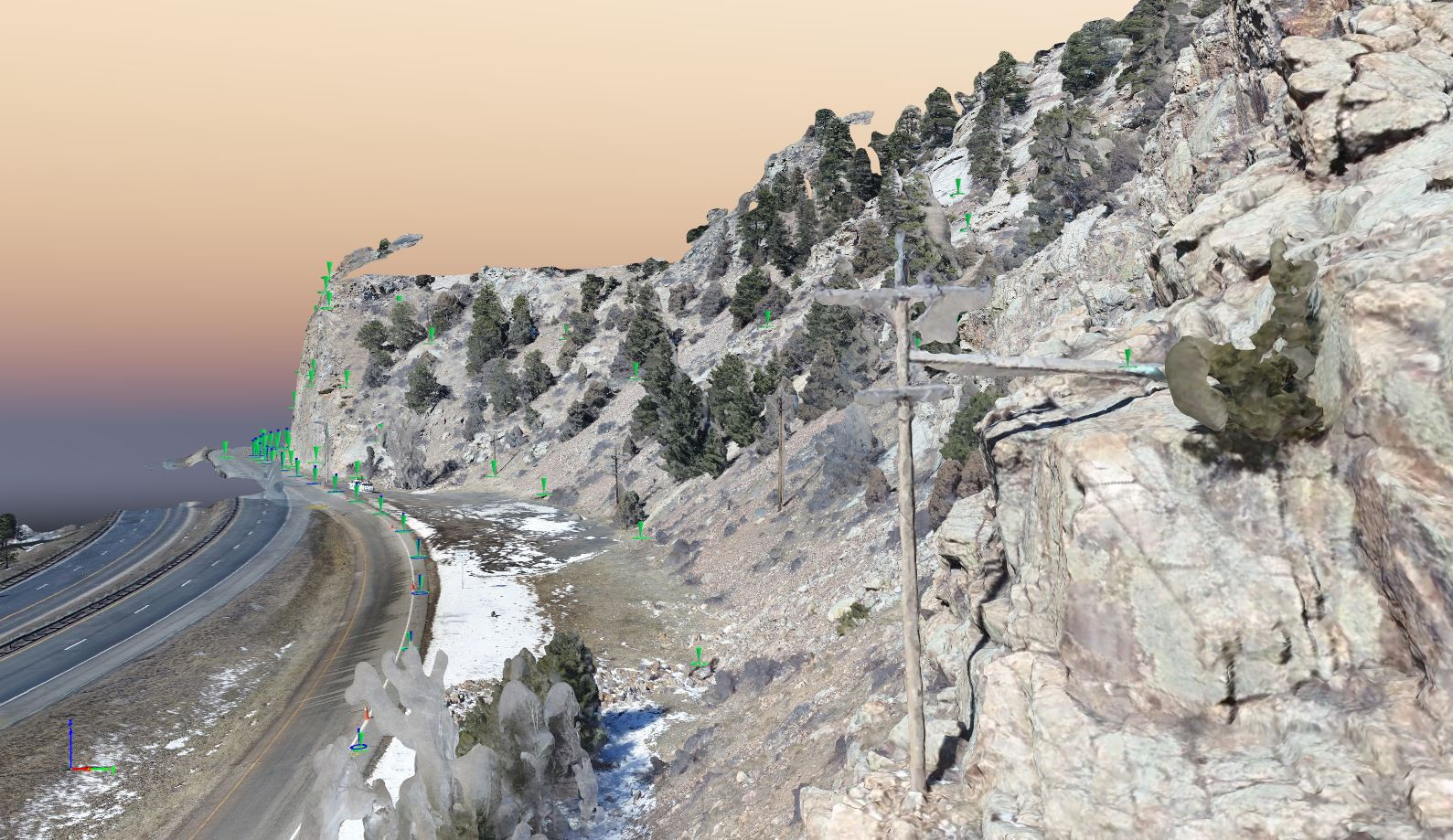 3D mesh from drone data