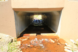 Fish passage baffle retrofit