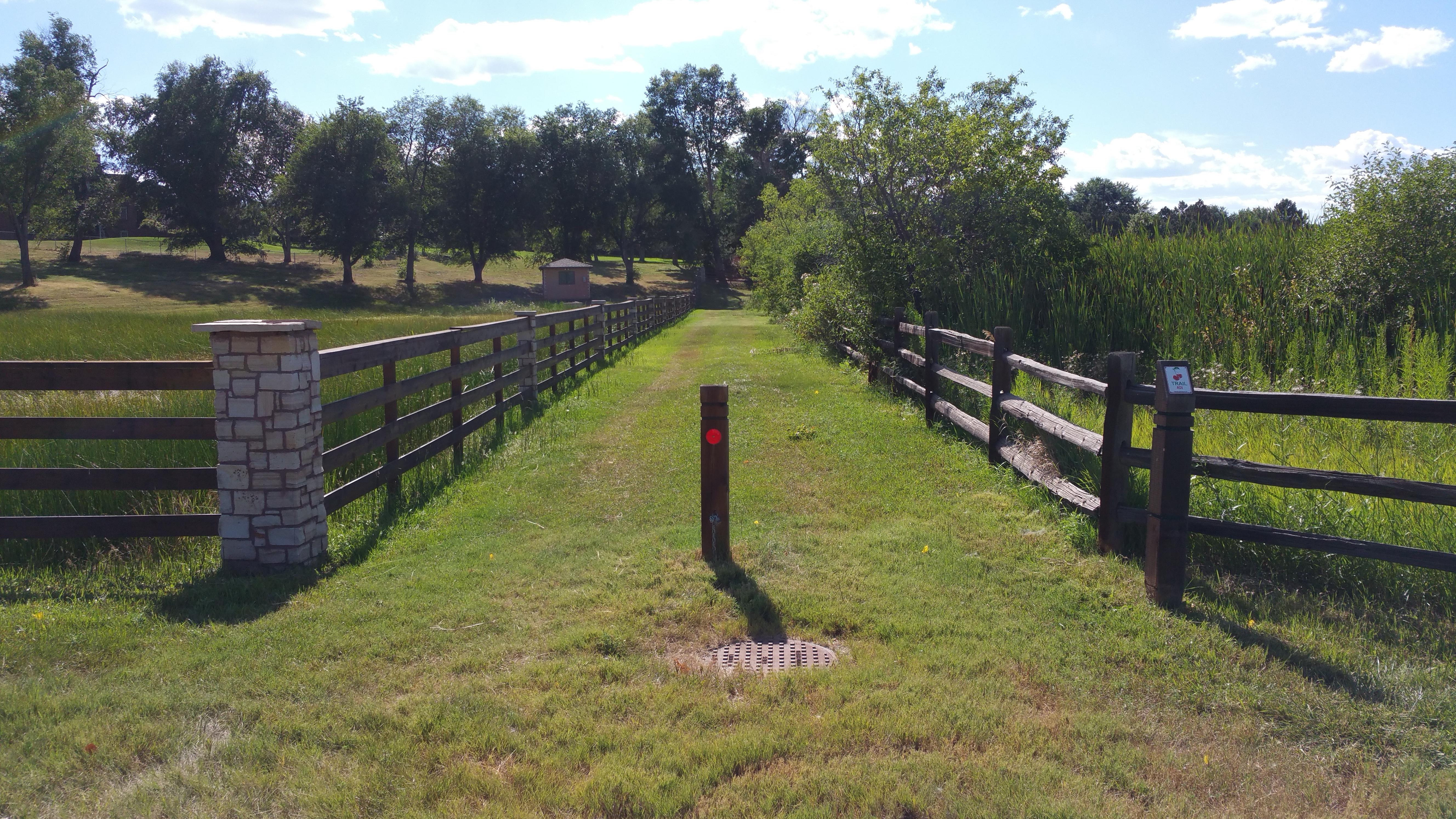 Bridle trail in Cherry Hills Village