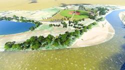 Riverside Park 3D rendering
