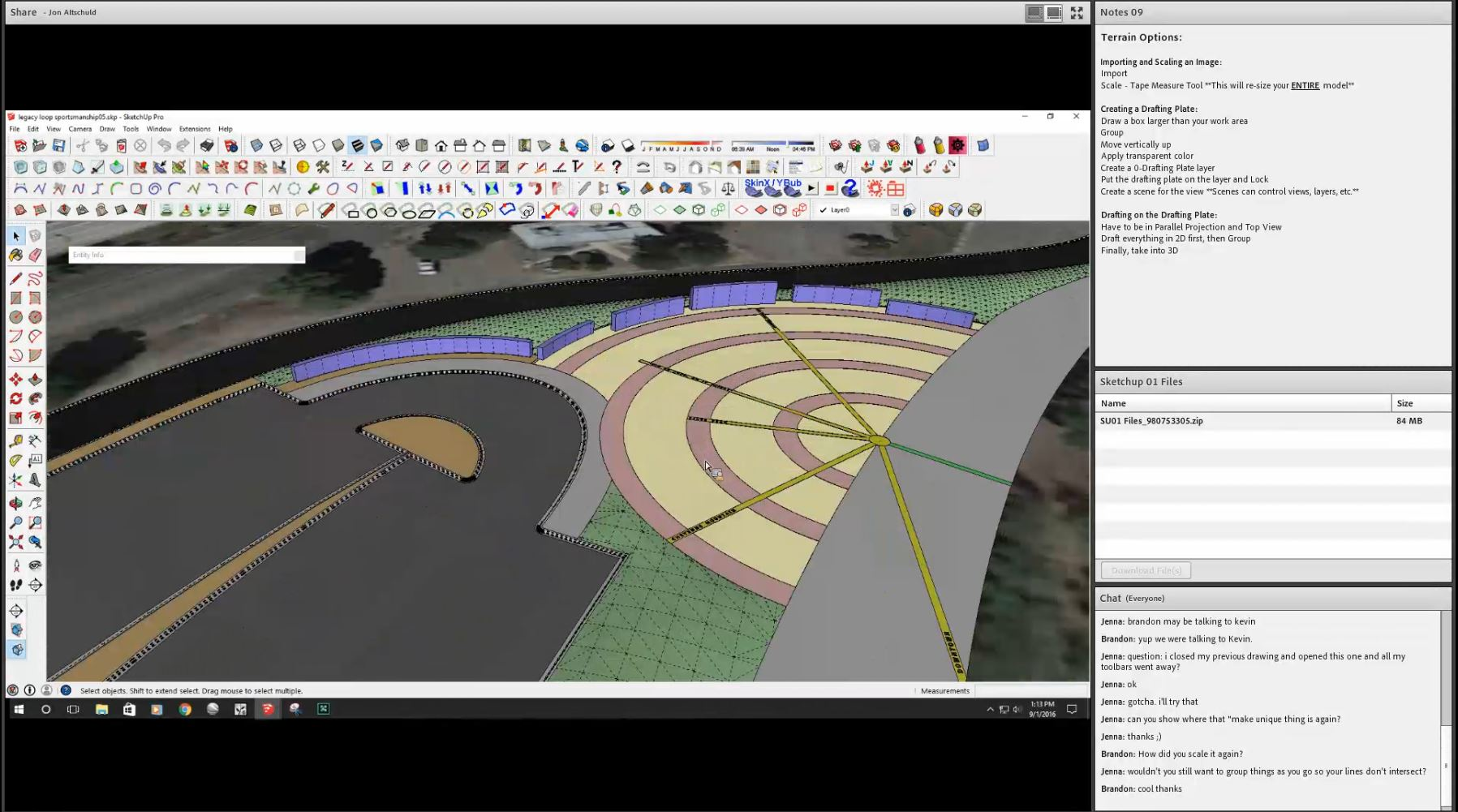 Virtual SketchUp Training