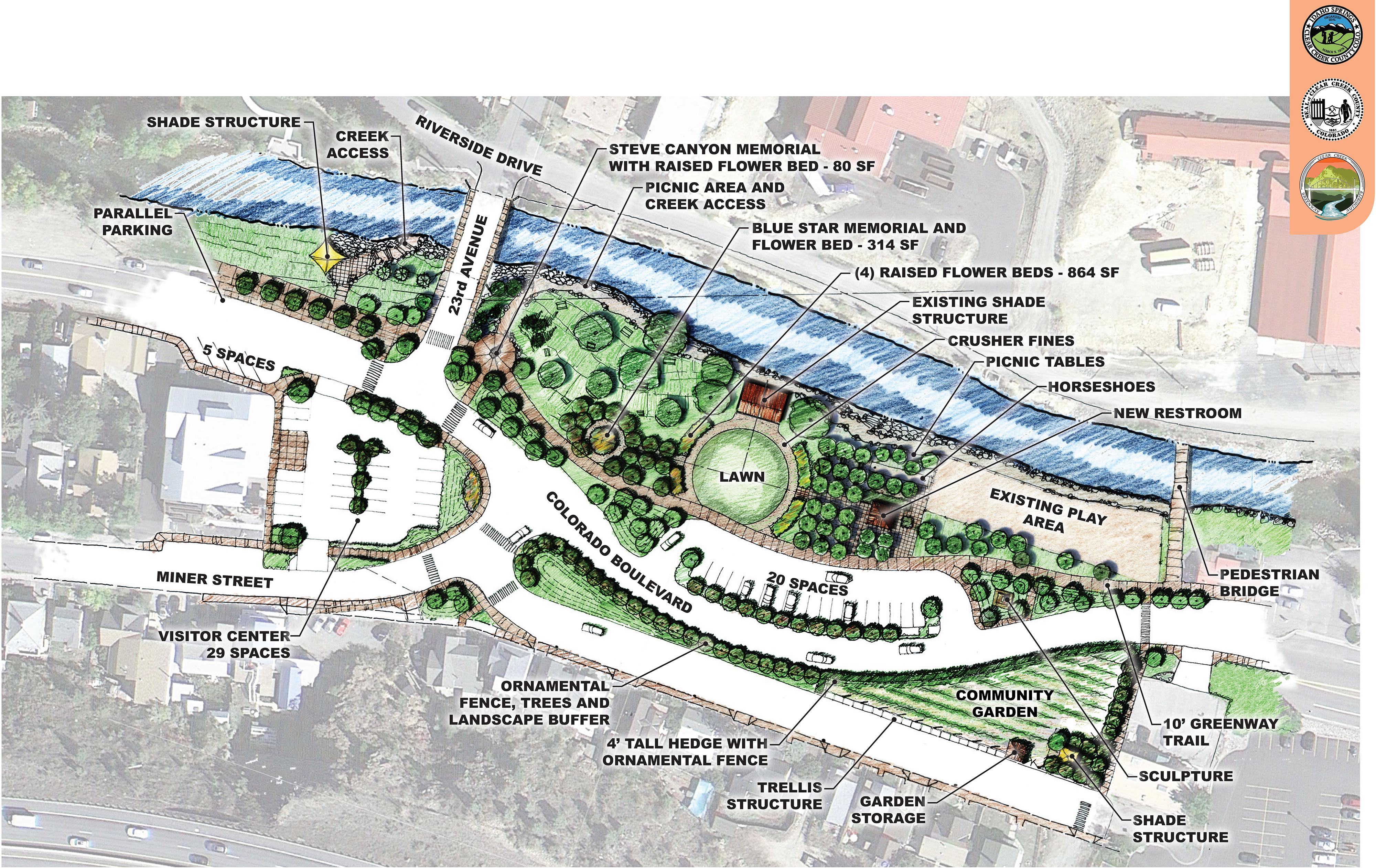 CRC Park improvements plan