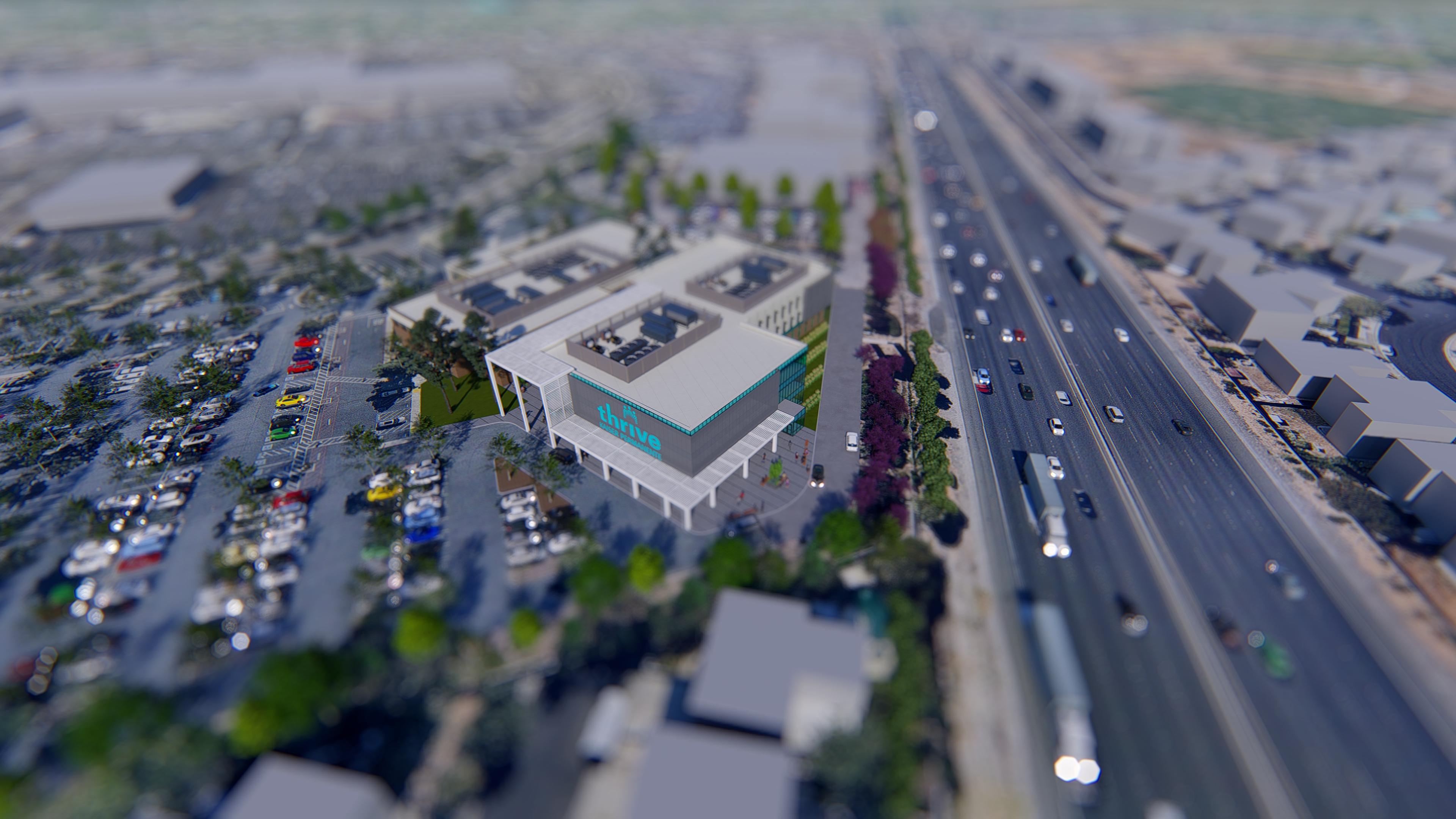 Kaiser Permanente 3D rendering