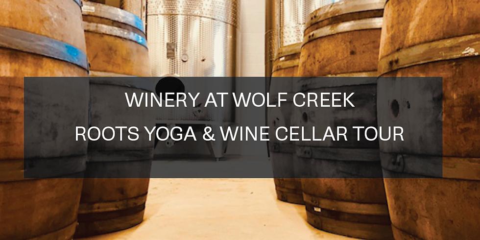 Yoga and Wine Cellar Tour