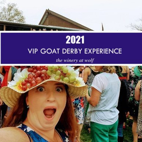 2021 VIP Goat Derby Experience