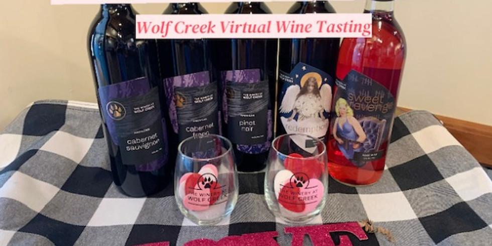 Wolf Creek Valentine's Day Virtual Tasting