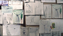 sketch wall