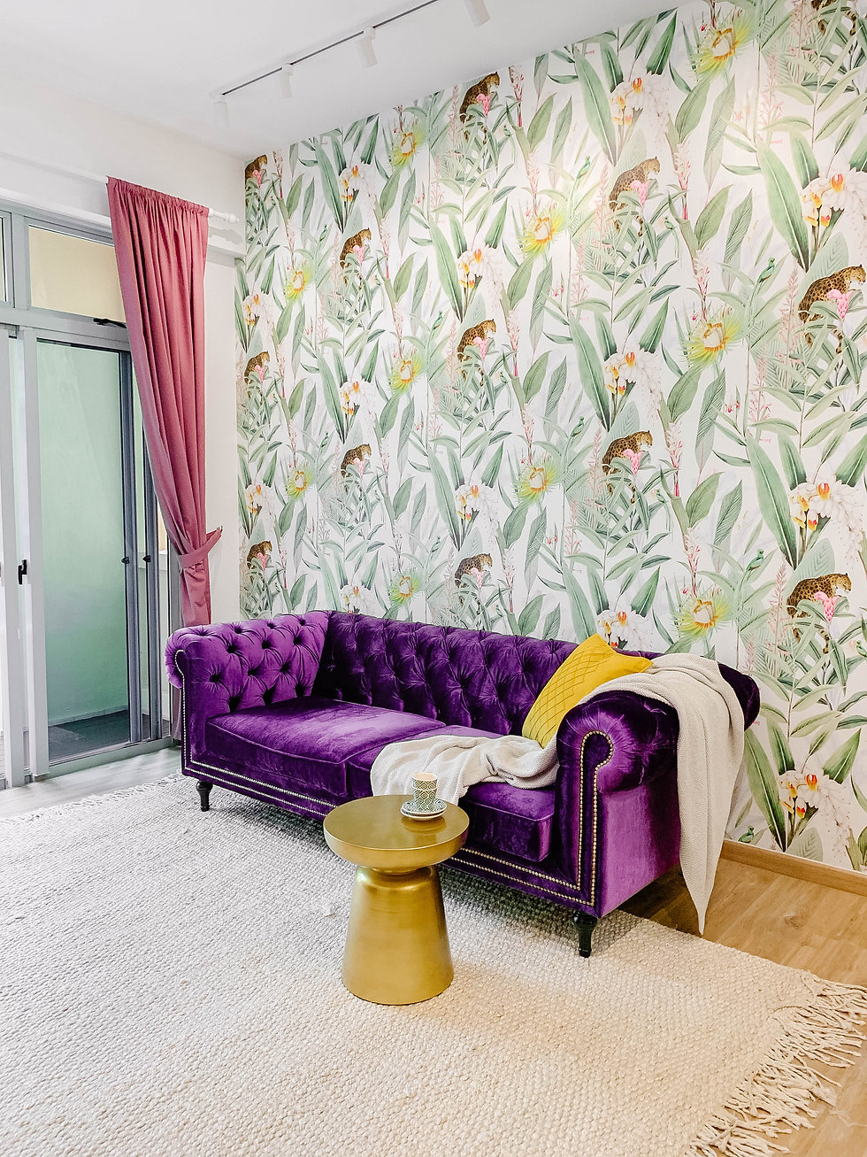 Playful Eclecticism in this Bold Home
