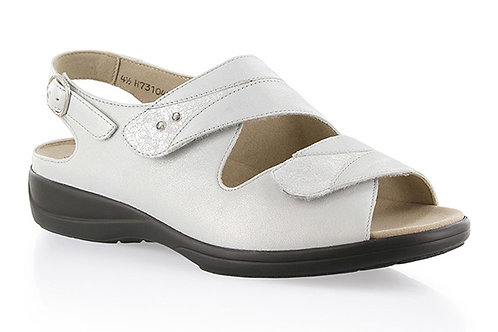 SOLIDUS • SPACE/SILVER SANDAAL 2 VELCRO - (77034)