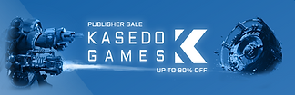 Steam users can enjoy up to 90% discounts on the full Kasedo Games catalogue until Thursday