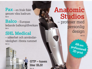Anatomic Studios featured in 3D-printing magazine