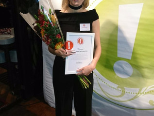Winner of Young Future Award