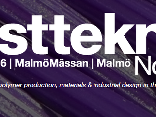 Meet us at Plastteknik Nordic 2016 in Malmö