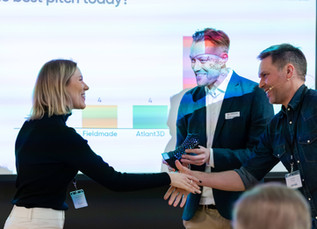 Best Pitch-award at Nordic 3D-printing event