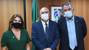 Petecão e ministro da Educação debatem aumento de vagas no IFAC