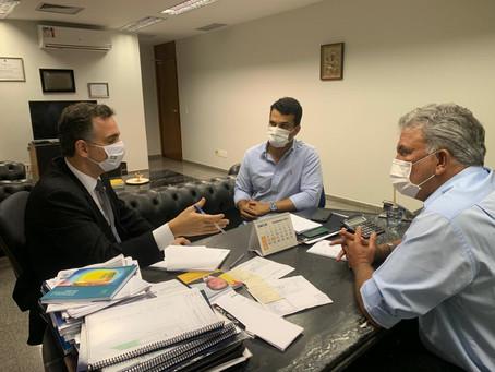 Petecão declara apoio a Rodrigo Pacheco para presidência do Senado