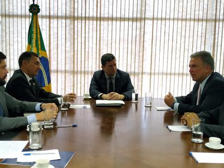 Petecão e Sérgio Moro anunciam R$ 20 milhões para a Segurança Pública do Acre