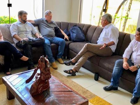 Governo do Estado e senador Petecão discutem avanços do agronegócio no Acre