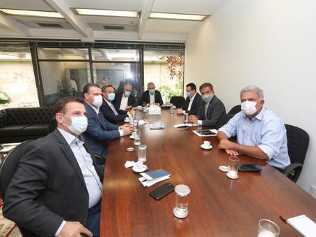 Petecão reúne senadores do PSD para debater eleição de nova mesa-diretora do Senado