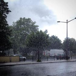 o dia em que choveu