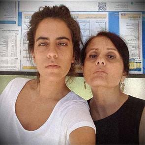 filha e mãe