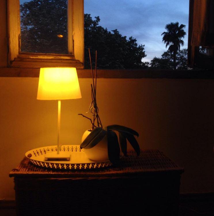 a luz da Casa