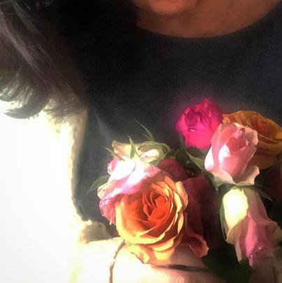 Flores num dia como os outros