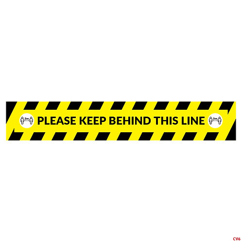 Please Keep Behind This Line