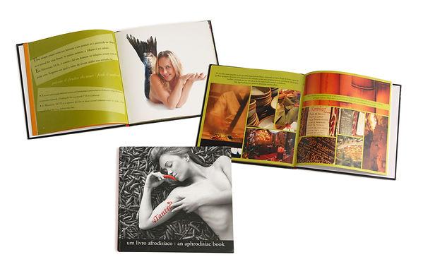 Helena de Castro editora livro fotógrafo gastronomia chef eric thomas tantra afrodisíaco